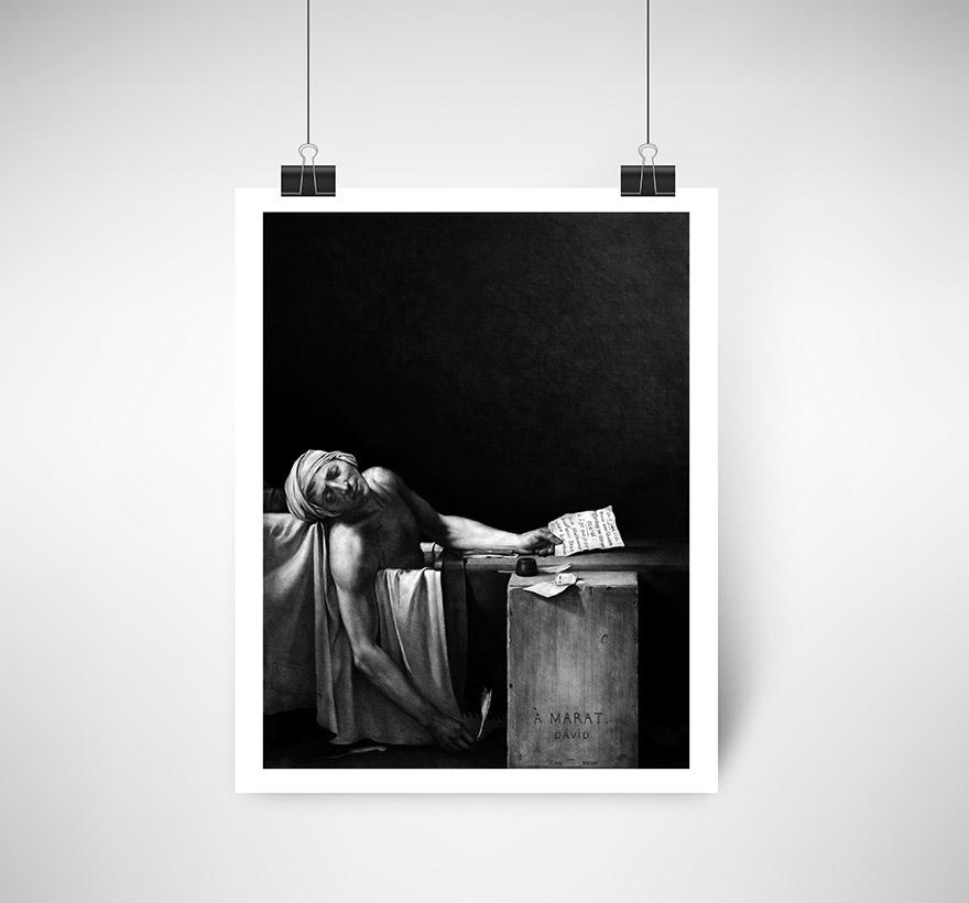 Suite Gráfica | The Death of Marat