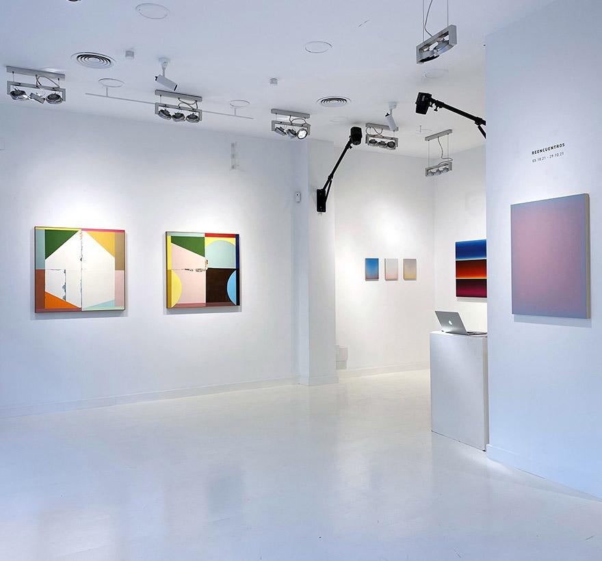 Reencuentros, exposición en LAB-ART Studio